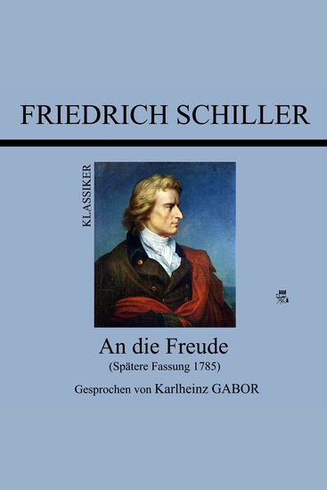 die Freude An - Spätere Fassung 1785 - cover