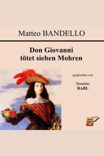 Don Giovanni tötet sieben Mohren - cover