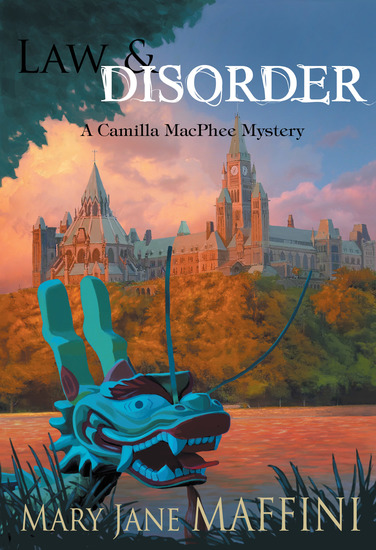 Law and Disorder - A Camilla MacPhee Mystery - cover