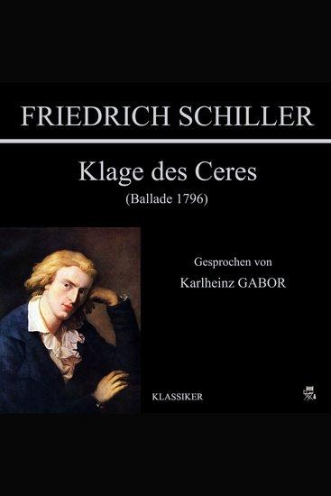 Klage des Ceres (Ballade 1796) - cover