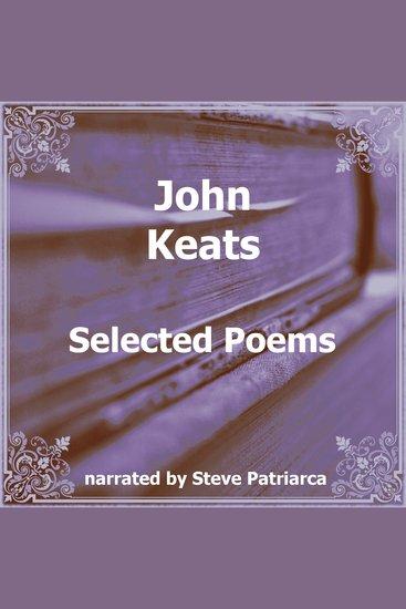 John Keats Selected Poems - cover