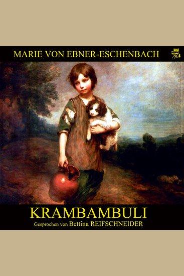 Krambambuli - cover