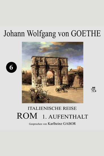 Italienische Reise: Rom 1 Aufenthalt (6) - cover