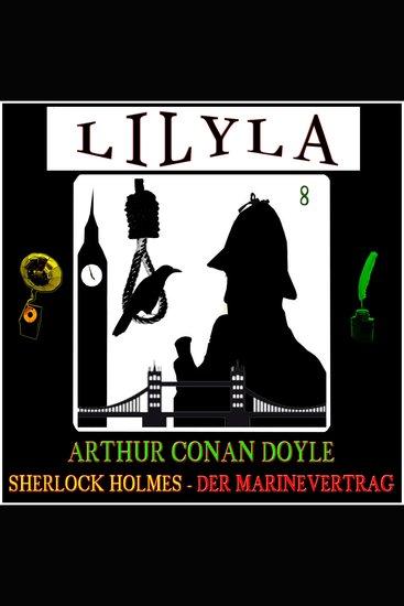 Sherlock Holmes: Der Marinevertrag - cover