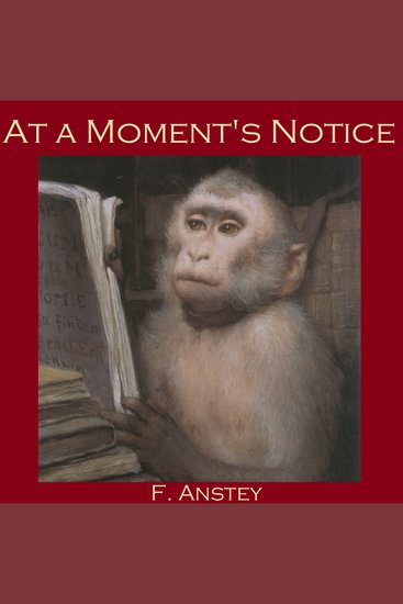 At a Moment's Notice - cover