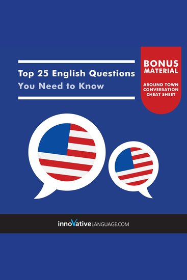 Top 25 English Questions You Need to Know - cover