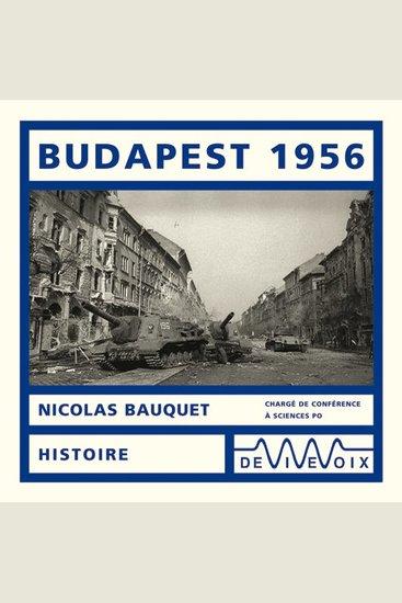 Budapest 1956 - cover
