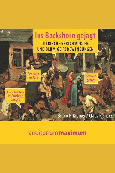 Ins Bockshorn gejagt (Ungekürzt) - cover