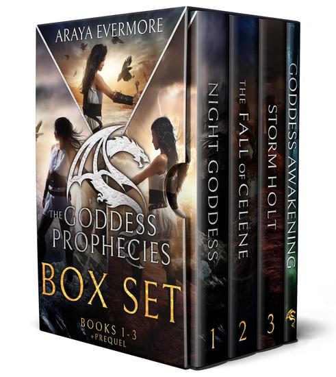The Goddess Prophecies: Books 1-3 - The Goddess Prophecies #1 - cover