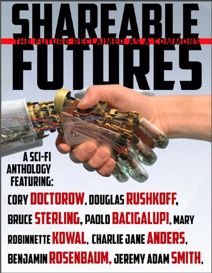 Shareable Futures: The Future Reclaimed as a Commons - cover