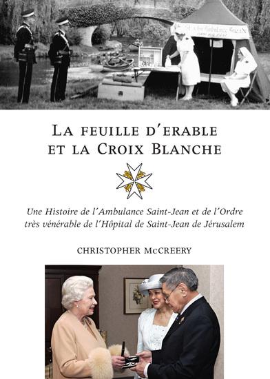 La feuille d'érable et la Croix-Blanche - cover