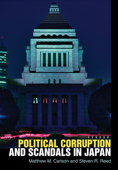 Political Corruption and Scandals in Japan - cover