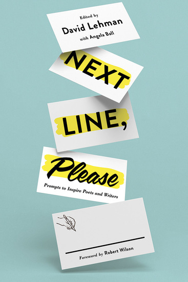 Next Line Please - Prompts to Inspire Poets and Writers - cover