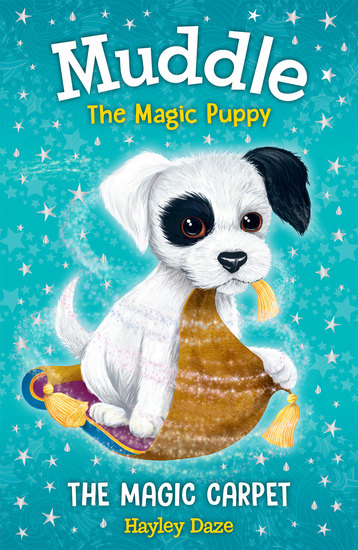 Muddle the Magic Puppy Book 1 - The Magic Carpet - cover