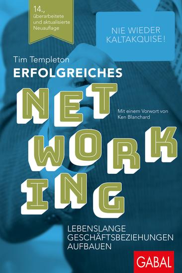 Erfolgreiches Networking - Lebenslange Geschäftsbeziehungen aufbauen - cover