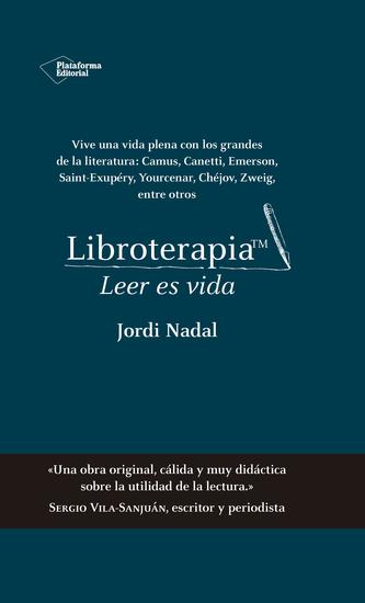 Libroterapia™ - Leer es vida - cover