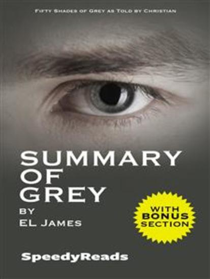 Summary of Grey: Fifty Shades of Grey as Told by Christian (Fifty Shades of Grey Series) - Finish Entire Novel in 15 Minutes - cover