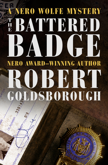 The Battered Badge - cover