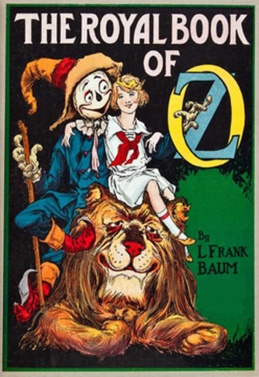 The Illustrated Royal Book of Oz - cover
