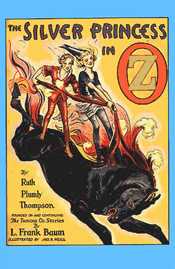 The Illustrated Silver Princess in Oz - cover