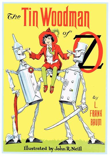 The Illustrated Tin Woodman of Oz - cover