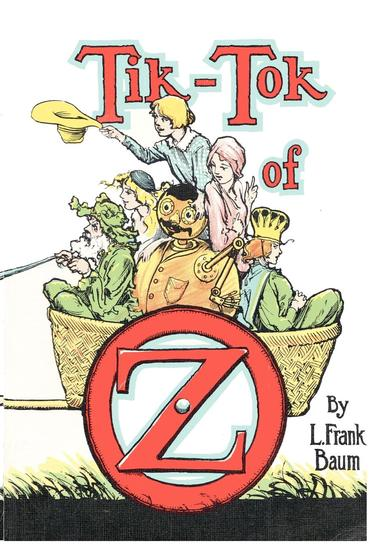 The Illustrated Tik-Tok of Oz - cover