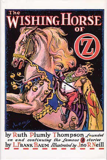 The Illustrated Wishing Horse of Oz - cover