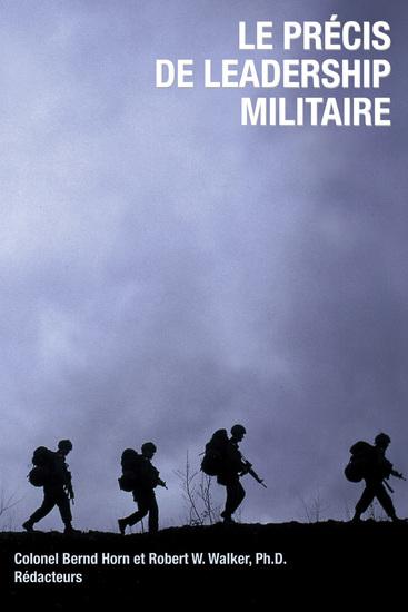 Le Précis de leadership militaire - cover