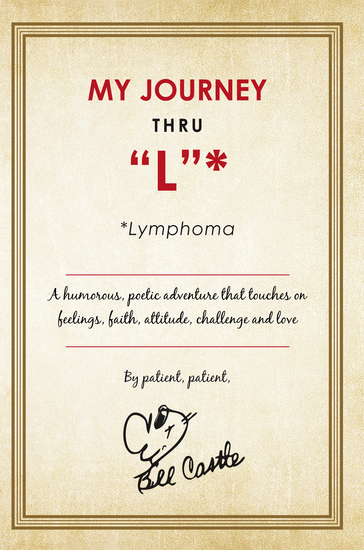 "My Journey Thru ""L"" * - *Lymphoma - cover"