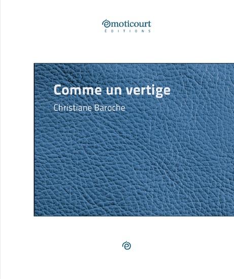 Comme un vertige - Par le Prix Goncourt de la Nouvelle 1978 - cover