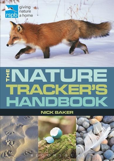 RSPB Nature Tracker's Handbook - cover