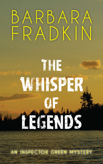 The Whisper of Legends - An Inspector Green Mystery - cover