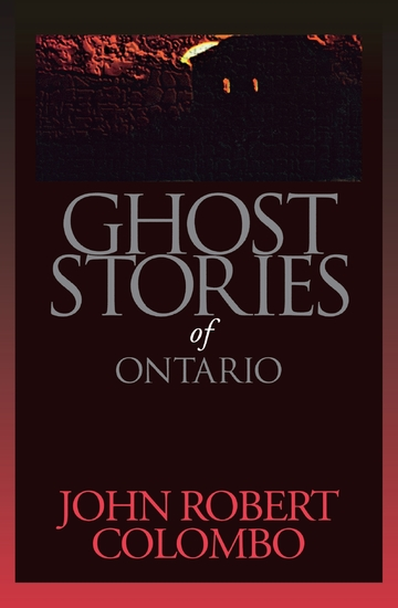 Ghost Stories of Ontario - cover