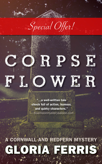 Corpse Flower - A Cornwall and Redfern Mystery - cover