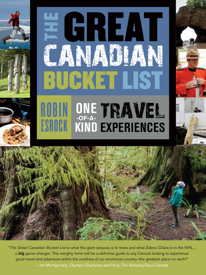 The Great Canadian Bucket List - One-of-a-Kind Travel Experiences - cover
