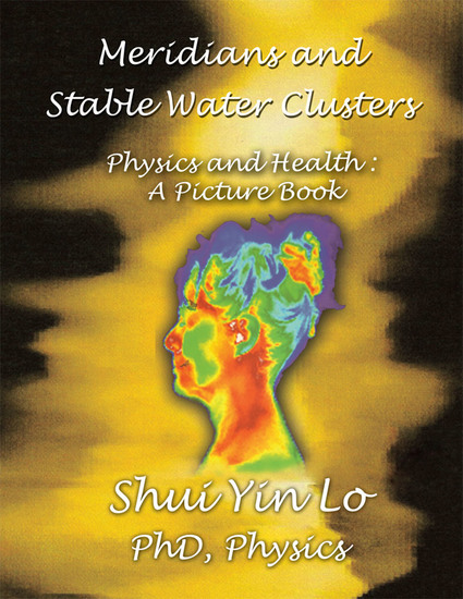 Meridians and Stable Water Clusters - Physics and Health :A Picture Book - cover