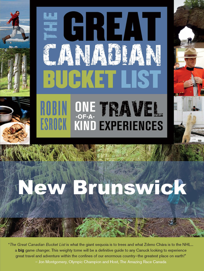 The Great Canadian Bucket List — New Brunswick - cover