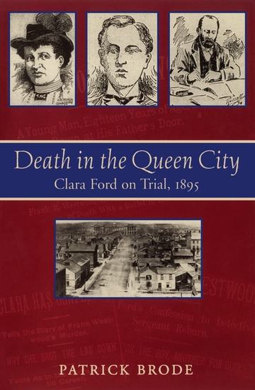 Death in the Queen City - Clara Ford on Trial 1895 - cover