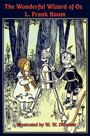 The Illustrated Wonderful Wizard of Oz - cover