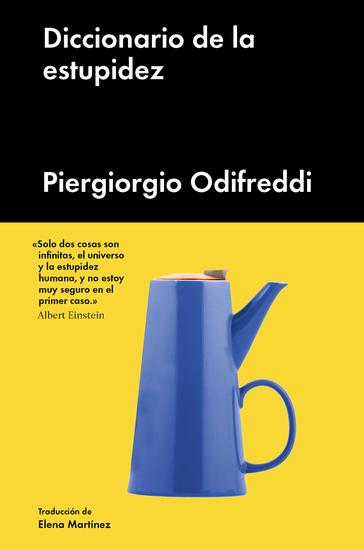 Diccionario de la estupidez - cover