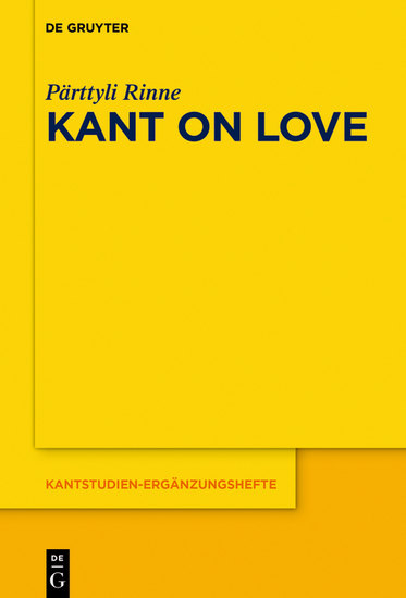 Kant on Love - cover