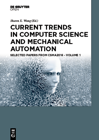 Current Trends in Computer Science and Mechanical Automation Vol1 - Selected Papers from CSMA2016 - cover