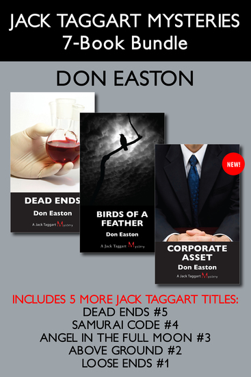 Jack Taggart Mysteries 7-Book Bundle - Corporate Asset Birds of a Feather Dead Ends and more - cover