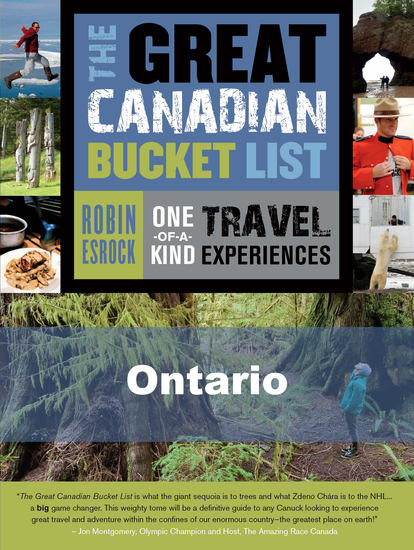 The Great Canadian Bucket List — Ontario - cover