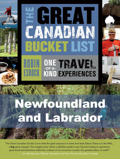 The Great Canadian Bucket List — Newfoundland and Labrador - cover
