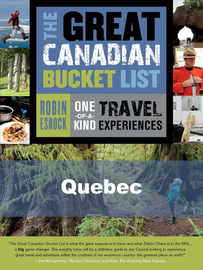 The Great Canadian Bucket List — Quebec - cover