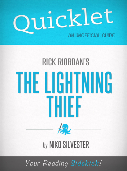 Quicklet on Rick Riordan's The Lightning Thief - Key terms and definitions - cover