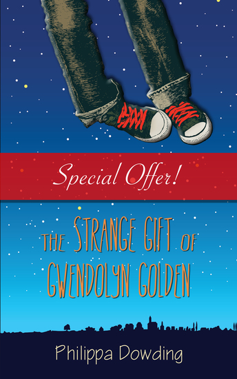 The Strange Gift of Gwendolyn Golden - The Night Flyer's Handbook - cover