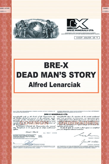Bre-X: Dead Man'S Story? - cover