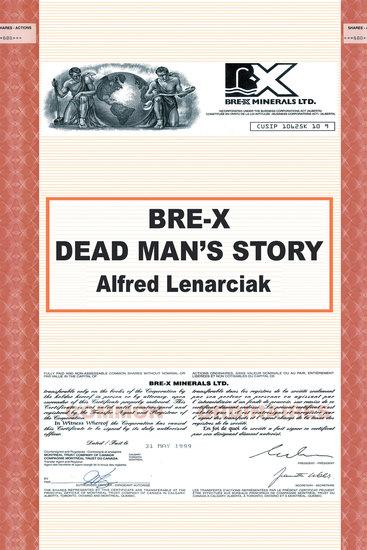 Bre-X: Dead Man'S Story? - cover